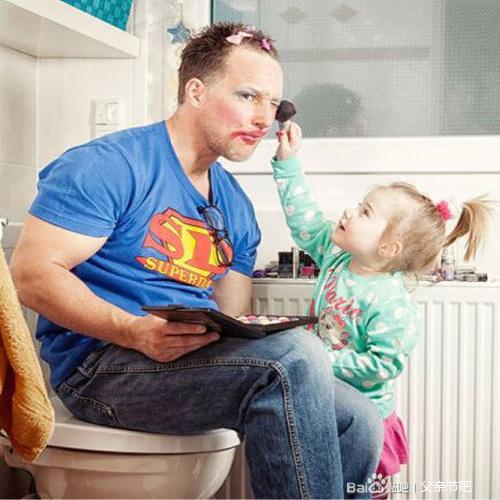 """让爸爸带娃的后果竟然是这样的?""""吓坏""""麻"""